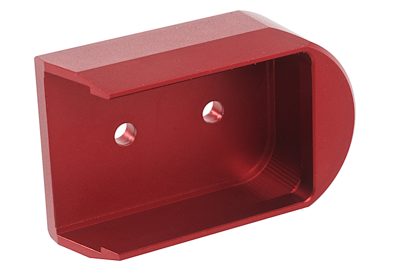 KJ Works Magazine Plate for CZ SP-01 Shadow - Red