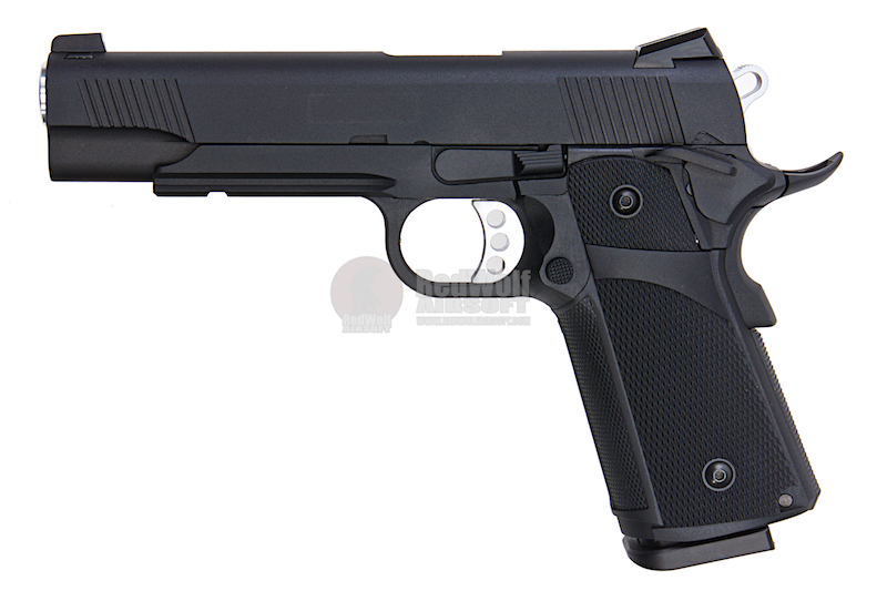 KJ Works KP-05 HI-CAPA Black (Full Metal, Gas and CO2) (BLACK)