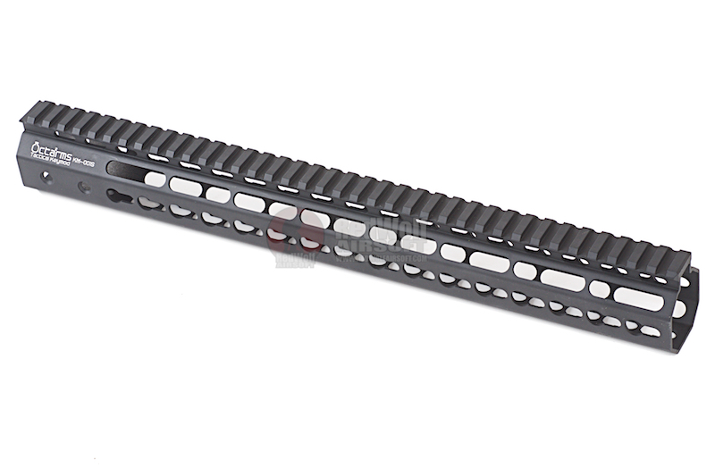 ARES Octarms 15 Inch Tactical Keymod System Handguard Set (Black)