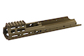 PTS Kinetic SCAR MREX M-LOK 4.9 inch for SCAR Series  - Dark Earth