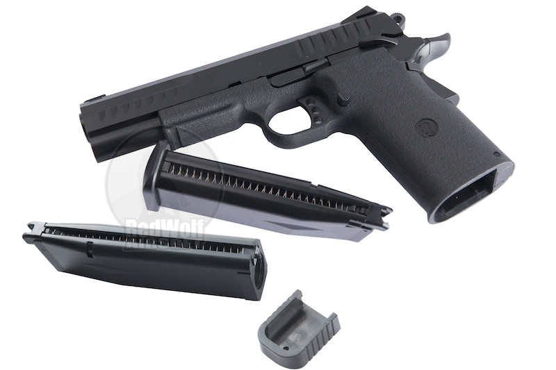 KJ Works KP-08 hi capa Pistol (Dual Magazine Version)