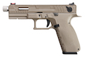 KJ Works KP-13F Full Auto Metal Slide GBB Pistol - TAN