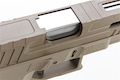KJ Works KP-13F Full Auto Metal Slide GBB Pistol (w/ Thread Barrel & Cap) - TAN