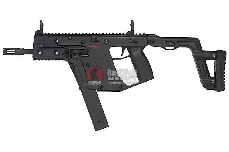KRYTAC KRISS Vector AEG SMG Rifle - Black