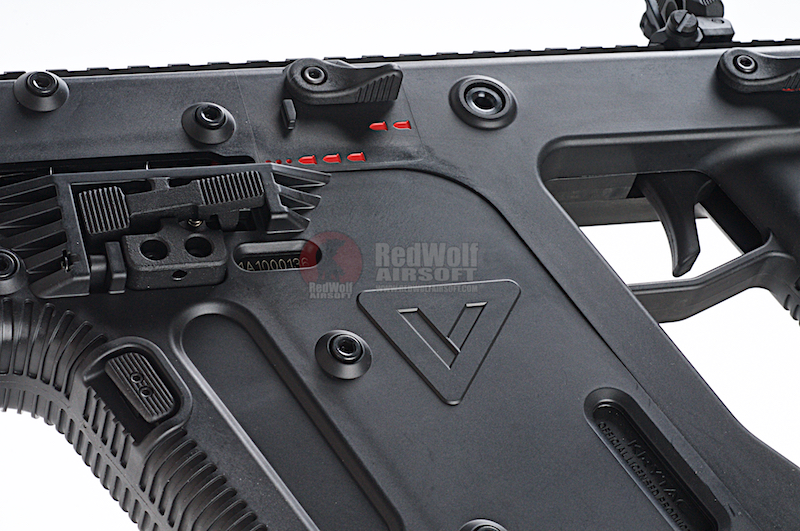 KRYTAC KRISS Vector AEG SMG Rifle w/ Mock Suppressor - Black - Buy airsoft  Electric Guns(AEG/AEP) online from RedWolf Airsoft
