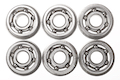 KRYTAC Steel Caged Ball Bearing (6pcs)