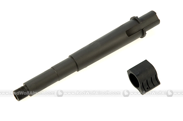 Prime Outer Barrel 7.5inch with Gas Block for Marui M4 <font color='red'>(Blowout Sale)</font>