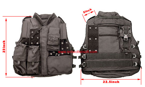 Milspex SWAT LAPD Tactical Vest - Standard Modular Version