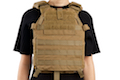 LBX Tactical Modular Plate Carrier - (S Size / Coyote Brown)