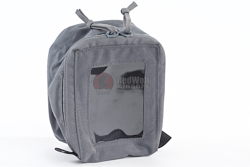 LBX Tactical Medium Open Window Pouch - Wolf Grey
