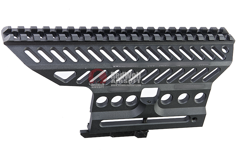 LCT Z-Series B-13 AK Slide Mount Rail - Black