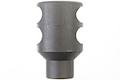LCT Z-Series DTK-2L Muzzle Brake (14 x 1mm CCW)- Black