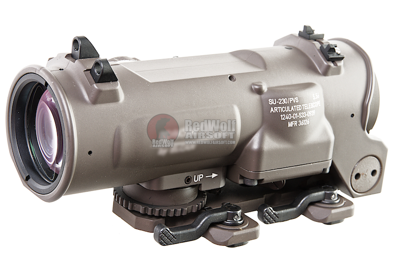 Evolution Gear A-DR Elcan Gen3 1-4X Scope Milspec Version - Dark Brown