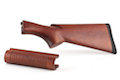 Laylax Real Wood Stock Set for Tokyo Marui M870