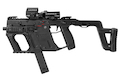 Laylax (L.A.S.) Advanced Grip for Kiss Vector Airsoft AEG SMG Rifle - Black