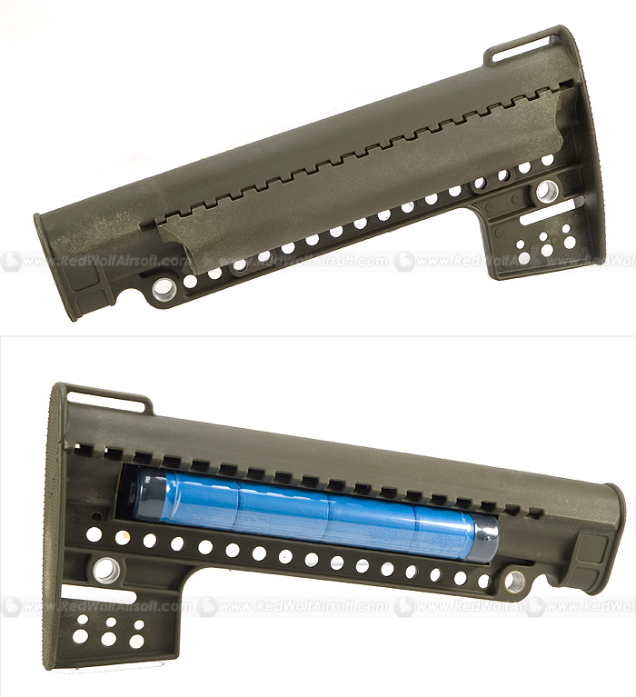 Laylax FPSS Stock (OD) for Marui M16 series