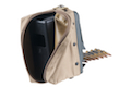 ARES LMG Box 1100rd Magazine - Tan