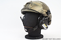 Earmor Hearing Protection Ear-Muff Helmet Version - Black