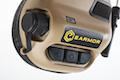 Earmor Hearing Protection Ear-Muff Helmet Version - TAN