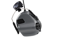 Earmor Hearing Protection Ear-Muff Helmet Version - Gray
