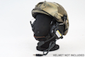 Earmor Tactical Hearing Protection Helmet Version Ear-Muff - BK