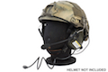 Earmor Tactical Hearing Protection Helmet Version Ear-Muff - FG