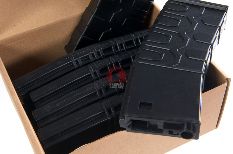 ICS 300rds Hi-Cap T4 Tactical Magazine (6pcs/Box) <font color=yellow>(Clearance)</font>