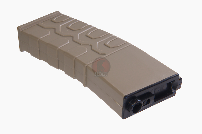 ICS 300rds Hi-Cap T4 Magazine - TAN <font color=yellow>(Clearance)</font>
