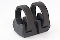 Magpul Light Mount V-Block and Rings - Black (MAG614)