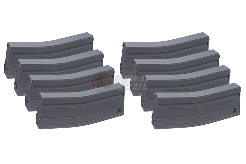 MAG M16 130rds Plastic Magazine Box Set (8 Pack)