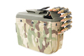 ARES 1100rds Box Magazine - Camouflage for LMG (2020 Version)