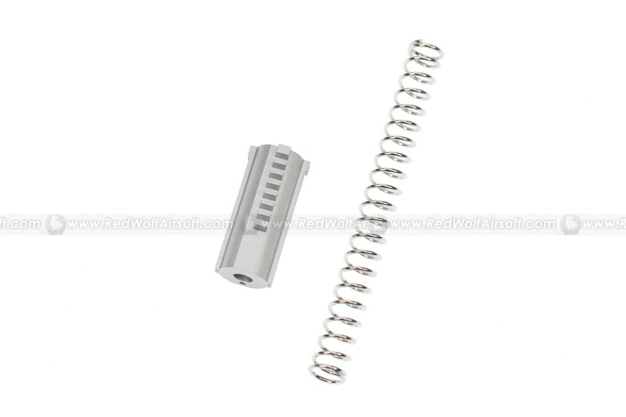 MAG Aluminum Piston with 130% Spring for Marui NP7 / VZ61 / MAC10