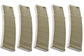 ARES 170rds M4 AMAG Magazine for M4/ M16 AEG (5PCS / BOX) - DE
