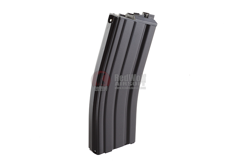 WE 30rds CO2 Magazine for WE SCAR & M4 (Black) (OPEN BOLT Version)