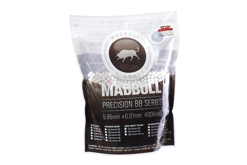 Madbull Precision 0.2g Bio-Degradable BB 4000 rds (Bag) <font color=red> (Clearance)</font>
