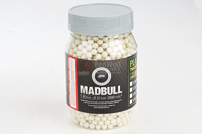 Madbull Precision 0.2g Dark Knight Tracer BB 2000 rds (Bottle)