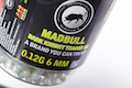 Madbull Phantom 0.12g Dark Knight Tracer BB 2000rds (Clear Blue)