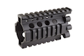 Madbull Daniel Defense 4 inch Rail Kit ( RIS Unit / Outer & Inner Barrel) (black)