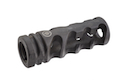 Madbull Primary Weapons Aluminum DNTC 308 Compensator (Black / 14mm CW)