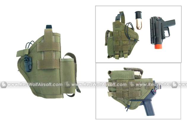Madbull AGX Launcher Holster (OD)