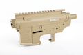 Madbull M4 Metal Body Ver.2 w/ Self Retaining Pins & Shortened Stock Tube (Barrett Marking) - FDE