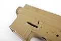 Madbull M4 Metal Receiver Ver.2 w/ Self Retaining Pins & Shortened Stock Tube (Gemtech Marking) - FDE <font color=red> (Clearance)</font>