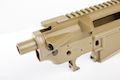 Madbull M4 Metal Body Ver.2 w/ Self Retaining Pins & Shortened Stock Tube (Lancer Marking) - FDE
