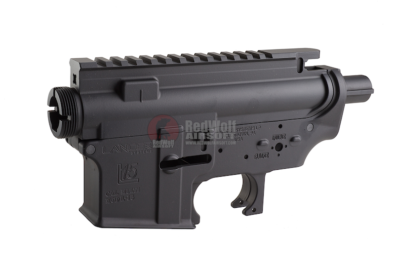 Madbull M4 Metal Body ver.2 w/ self retaining pins and shortened stock tube (Lancer Marking)