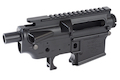 Madbull M4 Metal Receiver Ver.2 w/ Self Retaining Pins & Shortened Stock Tube (Noveske Marking) - BK