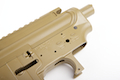 Madbull M4 Metal Body Ver.2 w/ Self Retaining Pins & Shortened Stock Tube (Spike's Tactical Marking) - FDE