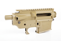 Madbull M4 Metal Body Ver.2 w/ Self Retaining Pins & Shortened Stock Tube (Stag Arms Marking) - FDE