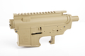 Madbull M4 Metal Body Ver.2 w/ Self Retaining Pins & Shortened Stock Tube (Vickers Marking) - FDE