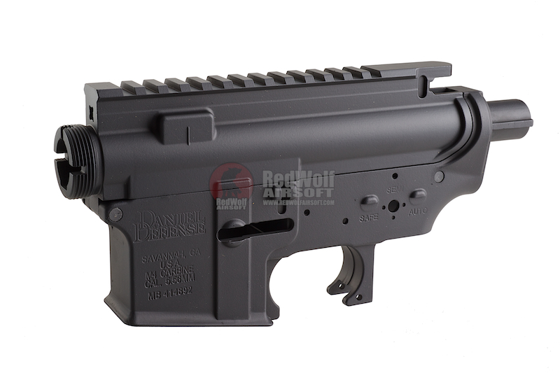 Madbull M4 Metal Body ver.2 w/ self retaining pins and shortened stock tube (Vickers Marking)