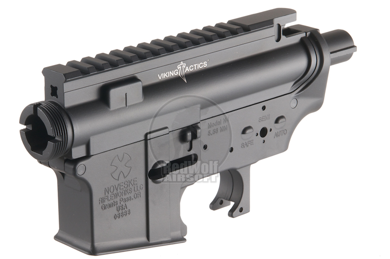 Madbull M4 Metal Body ver.2 w/ self retaining pins and shortened stock tube(Viking Tactical Marking)